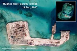 """Mỹ sẵn sàng tiến vào vùng 12 hải lý quanh """"đảo nhân tạo"""" Trung Quốc"""