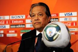 """FIFA tạm """"treo ghế"""" Chủ tịch Liên đoàn bóng đá Thái Lan"""