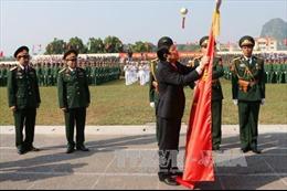 Chủ tịch nước trao Huân chương Quân công hạng Nhất cho Lực lượng vũ trang Quân khu 1
