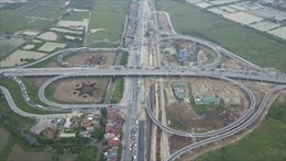 Thông xe nút giao cầu Thanh Trì với Quốc lộ 5