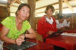 Mở rộng xóa mù chữ cho phụ nữ
