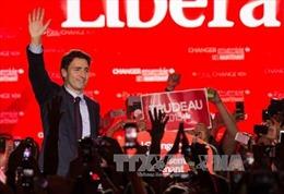Đảng Tự do chiến thắng vang dội trong Tổng tuyển cử Canada