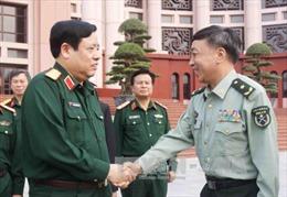 Đoàn Trường Đại học Quốc phòng Trung Quốc thăm Việt Nam