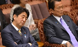 Phút chợp mắt của chính trị gia trong nghị trường