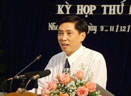 Ông Lê Đức Vinh được bầu làm Chủ tịch UBND Khánh Hòa