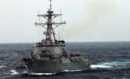 Trung Quốc giám sát tàu chiến Mỹ trên Biển Đông