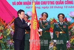 Trao Huân chương Quân công hạng Nhất cho LLVT Quân khu 3