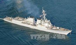 Tàu Trung Quốc có thể đâm vào tàu chiến Mỹ ở Biển Đông