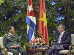 Thắt chặt quan hệ hợp tác giữa quân đội Việt Nam và Cuba