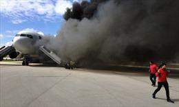 Boeing Mỹ bốc cháy, 15 người bị thương
