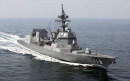 Nhật Bản cử thêm tàu hộ vệ tập trận cùng Mỹ trên Biển Đông