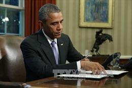Tổng thống Mỹ ký ban hành luật ngân sách hai năm
