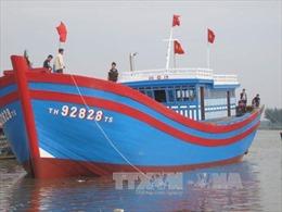 """Thanh Hóa hạ thủy """"tàu 67"""" vỏ gỗ đầu tiên"""