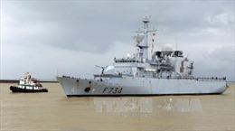 Tàu Hải quân Pháp thăm thành phố Đà Nẵng