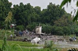 Ba người sống sót trong vụ rơi máy bay ở Nam Sudan