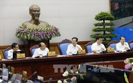 Nghị quyết phiên họp Chính phủ thường kỳ tháng 10