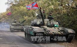 Gia tăng vi phạm ngừng bắn tại miền Đông Ukraine