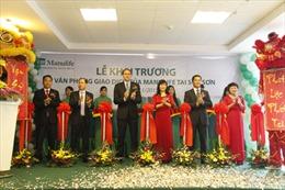 Manulife Việt Nam khai trương văn phòng mới tại Sóc Sơn