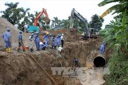 Tạm ngừng cấp nước máy sông Đà về Hà Nội
