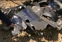 Phát hiện lỗ thủng trên đuôi máy bay Nga rơi