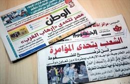 """Truyền thông Ai Cập phản ứng dữ đội """"thuyết âm mưu"""" của Mỹ, Anh"""
