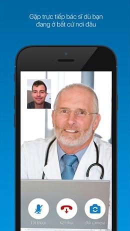Trò chuyện với bác sĩ qua eDoctor trên smartphone