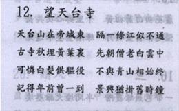 Tâm tình trong thơ chữ Hán Nguyễn Du (tiếp theo)