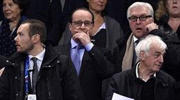 Tổng thống Pháp tới hiện trường khủng bố