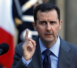 Tổng thống Assad so sánh khủng bố ở Paris với nội chiến Syria