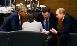 Tổng thống Mỹ, Nga gặp mặt bên lề Thượng đỉnh G-20