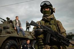 Đặc nhiệm Nga thử nghiệm vũ khí mới