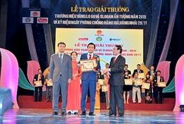 Amway Việt Nam đạt thương hiệu vàng 2015