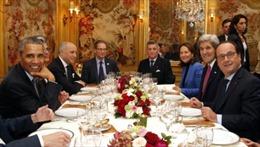 Đầu bếp Pháp trổ tài cho bàn tiệc COP21