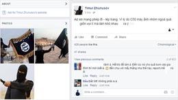 Đối tượng mạo danh IS dọa khủng bố trên Facebook là 3 học sinh