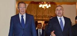 Ngoại trưởng Thổ Nhĩ Kỳ, Nga gặp nhau bên lề hội nghị OSCE