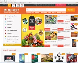 Gần 2.000 doanh nghiệp tham gia OnlineFriday.vn