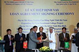 Ký các Hiệp định vay vốn Quỹ SFD trị giá 29 triệu USD