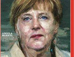 """Time bình chọn bà Merkel là """"Nhân vật của năm 2015"""""""
