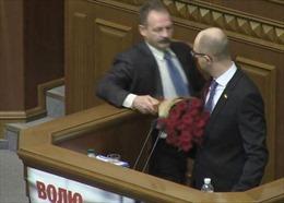 Nghị sĩ Ukraine lại ẩu đả trong Nhà Quốc hội