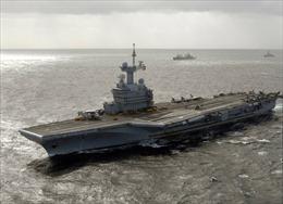 Bộ trưởng Quốc phòng Mỹ lên tàu sân bay Pháp