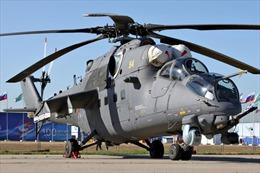 """Nga điều """"siêu xe tăng bay"""" Mi-35M tới Syria"""