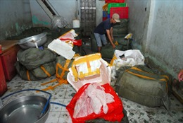 Bắt giữ hơn 2 tấn thịt heo bẩn tuồn vào TP HCM