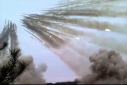 """""""Mưa tử thần"""" từ pháo phản lực"""