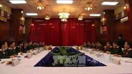 Bộ Quốc phòng Việt Nam và Bộ Quốc phòng Lào ký Kế hoạch hợp tác năm 2016
