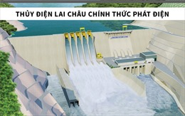 Thủy điện Lai Châu - công trình trọng điểm quốc gia