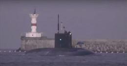 Tàu ngầm Nga về Crimea sau chiến dịch chống IS