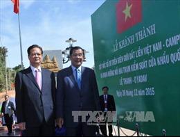 Phát biểu của Thủ tướng tại lễ khánh thành cột mốc số 30