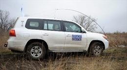 Quan sát viên OSCE bị nã đạn bất chấp lệnh ngừng bắn
