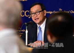 Thủ tướng Hun Sen không đề nghị ân xá tiếp cho Sam Rainsy