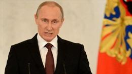 Nga tặng sách sưu tầm phát ngôn của ông Putin
